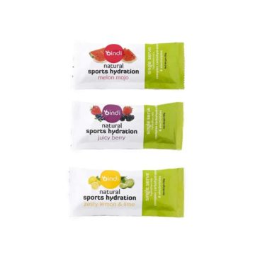 sachets for sports hydration mix drink