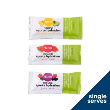 Sports Hydration Single Serves - Bindi Nutrition