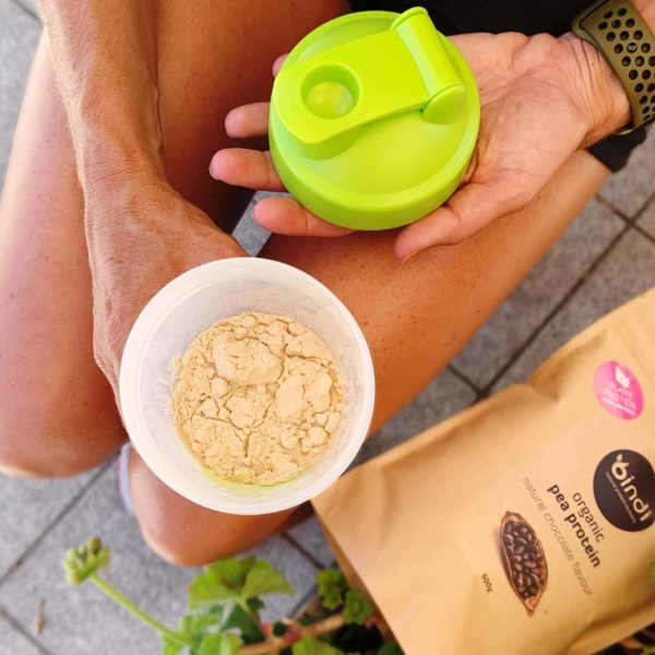 protein in shaker