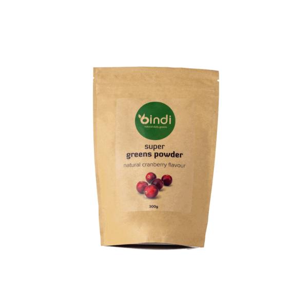bag of supergreens powder
