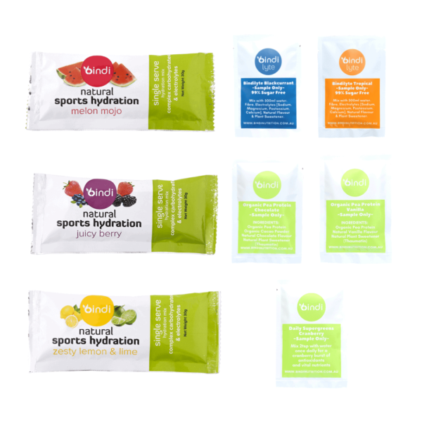 sports nutrition samples