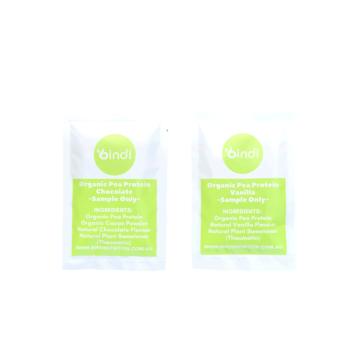 pea protein sample pack vegan