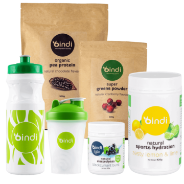 healthy sports nutrition pack