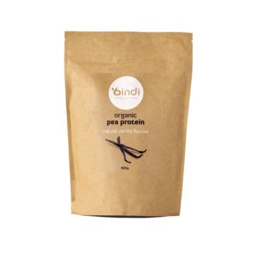 vegan protein powder bag