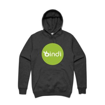 grey bindi hoodie
