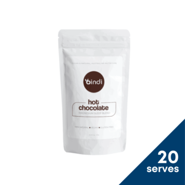 Hot chocolate blend with magnesium