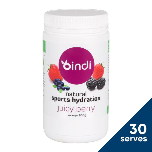 Bindi Natural Sports Hydration Blackcurrant 900g