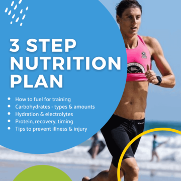 cover page for nutrition guide