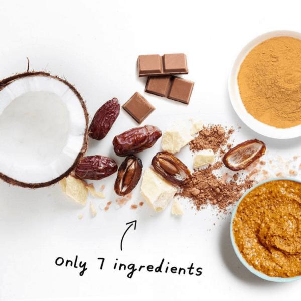 raw ingredients of energy bar