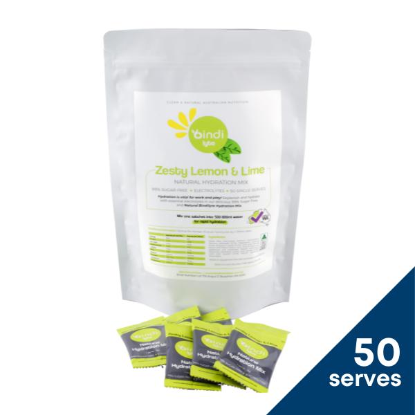 Bindilyte Lemon Lime 50 serves